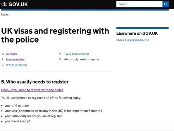 英國簽證-警察報到-min